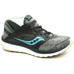 Saucony Womens Kineta Replay Gray Sneakers 7.5